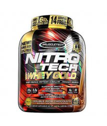 MUSCLETECH NITRO-TECH 100% WHEY GOLD, 5.5 LBS